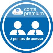 CTS PLAY CONTA PREMIUM 12 MESES - 3 PONTOS