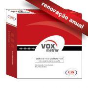 VoxMetria - Renovação Anual
