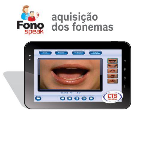 App FonoSpeak - Aquisição dos Fonemas  - CTS Informática