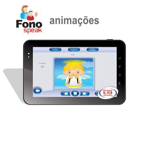 App FonoSpeak - Treinamento dos Fonemas - Animações  - CTS Informática