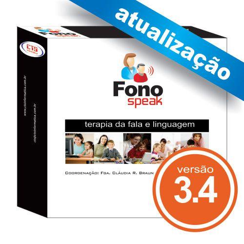 Atualização FonoSpeak 3.4  - CTS Informática