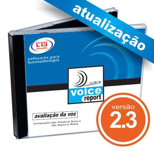 Atualização VoiceReport 2.3  - CTS Informática