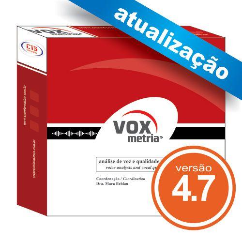 Atualização VoxMetria 4.7  - CTS Informática