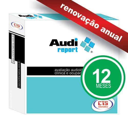 AudiReport - Renovação Anual  - CTS Informática
