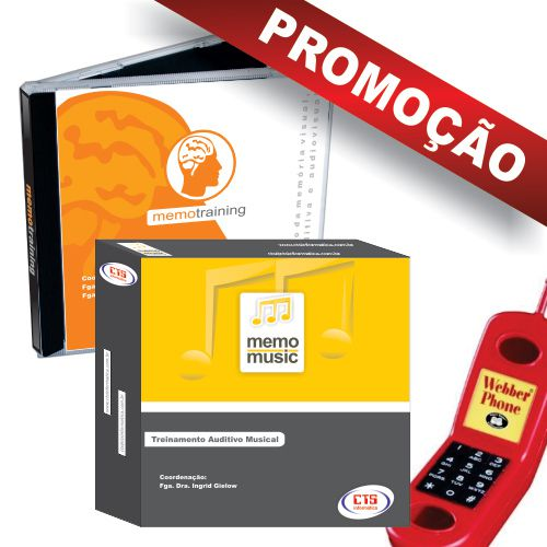 BOX AUDIO - MEMOTRAINING + MEMOMUSIC + WEBBER PHONE  - CTS Informática