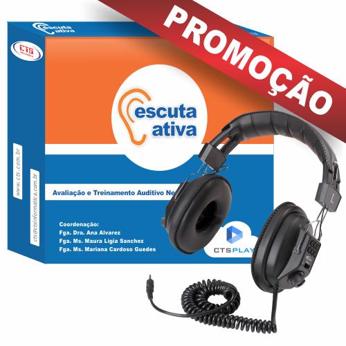 BOX ESCUTA ATIVA + FONE DE OUVIDO CALIFONE  - CTS Informática