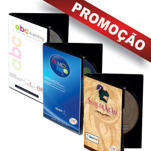 BOX LEITURA E ESCRITA ABC TRAINING + MEMOMIX + SOLETRAÇÃO  - CTS Informática
