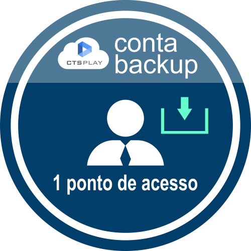 CTS PLAY CONTA BACKUP 12 MESES  - CTS Informática