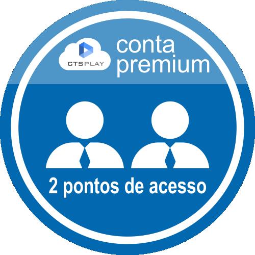 CTS PLAY CONTA PREMIUM 12 MESES - 2 PONTOS   - CTS Informática