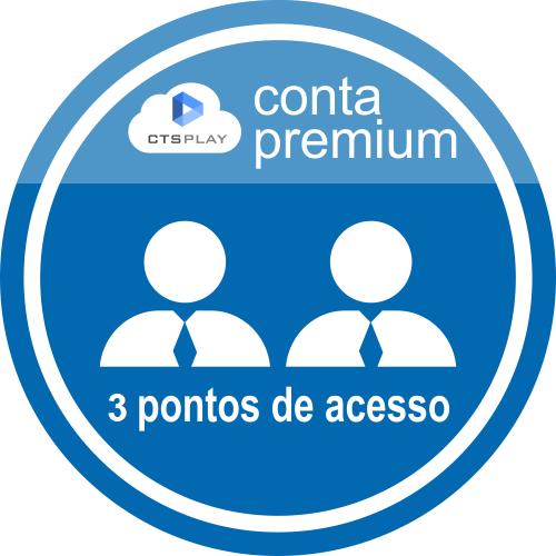 CTS PLAY CONTA PREMIUM 12 MESES - 3 PONTOS   - CTS Informática