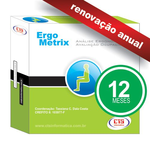 ErgoMetrix - Renovação Anual  - CTS Informática