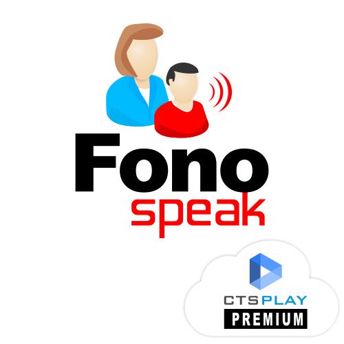 FONOSPEAK 4 - TERAPIA DA FALA E LINGUAGEM  - CTS Informática