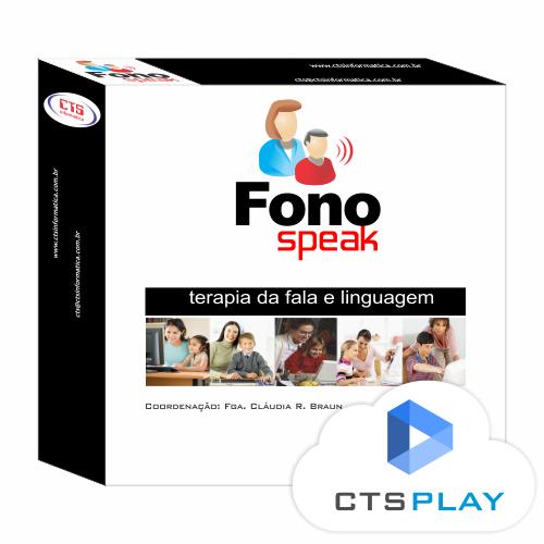 FONOSPEAK 3 - TERAPIA DA FALA E LINGUAGEM  - CTS Informática