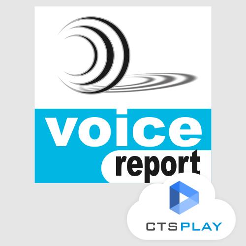 VOICEREPORT - AVALIAÇÃO QUALITATIVA DA VOZ  - CTS Informática