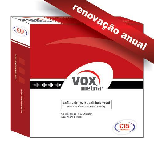 VoxMetria - Renovação Anual  - CTS Informática
