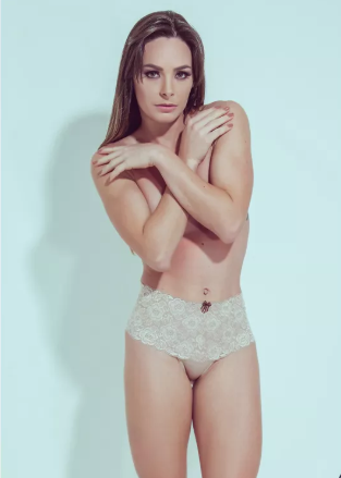 CALCINHA MODELADORA COM RENDA