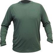 Camisa Combat Clean Verde Faca na Rede