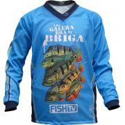Camisa Faca na Rede Fish TV Kids