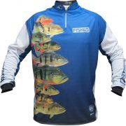 Camisa Faca na Rede Fish TV LC3 Tucunare