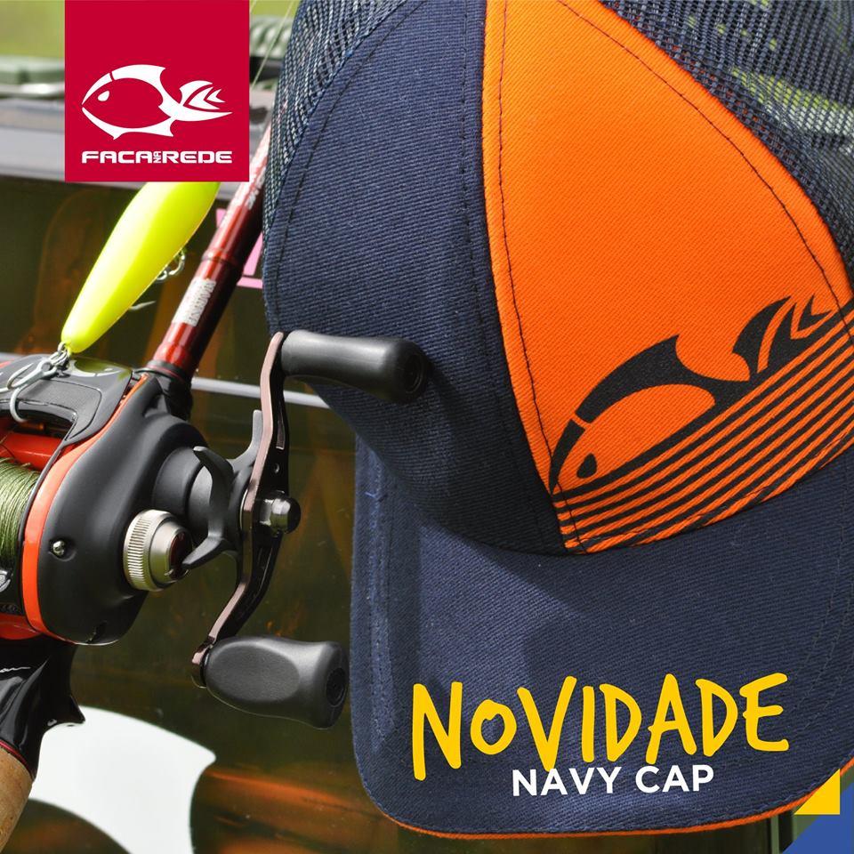 Boné Faca na Rede Navy Cap