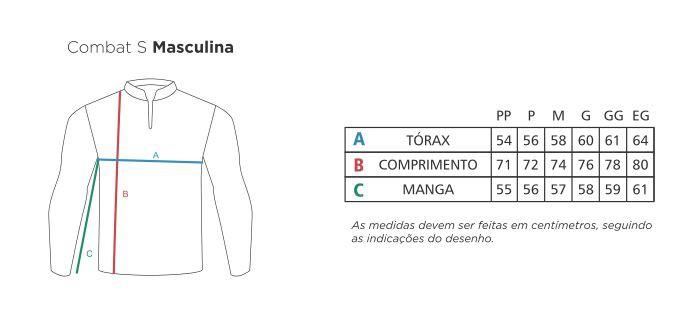 Camisa Faca na Rede Combat-S 2020 NEW Tucuna Açu