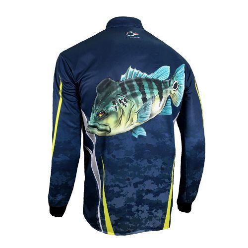 Camisa Faca na Rede Combat-S 2020 NEW Tucuna Azul