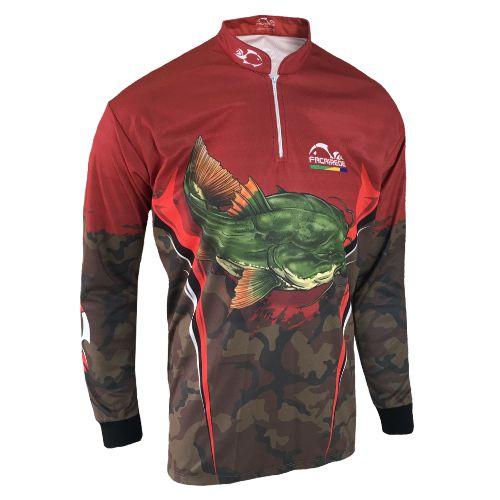 Camisa Faca na Rede  Combat-S 2021 Pirarara