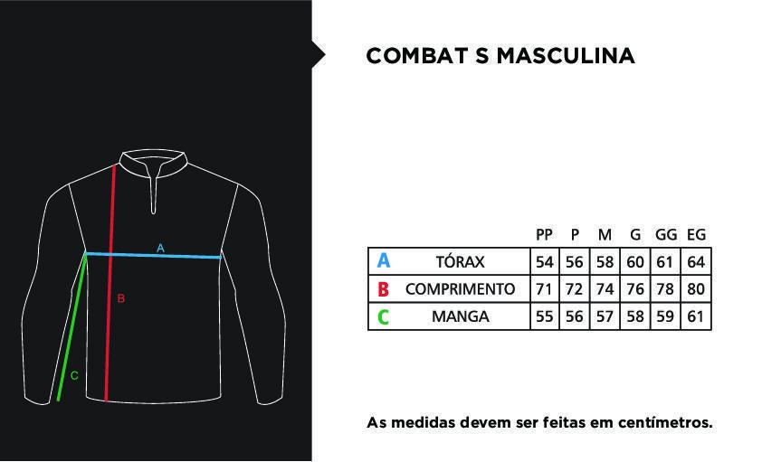 Camisa Faca na Rede Combat-S CS19 Pirarara