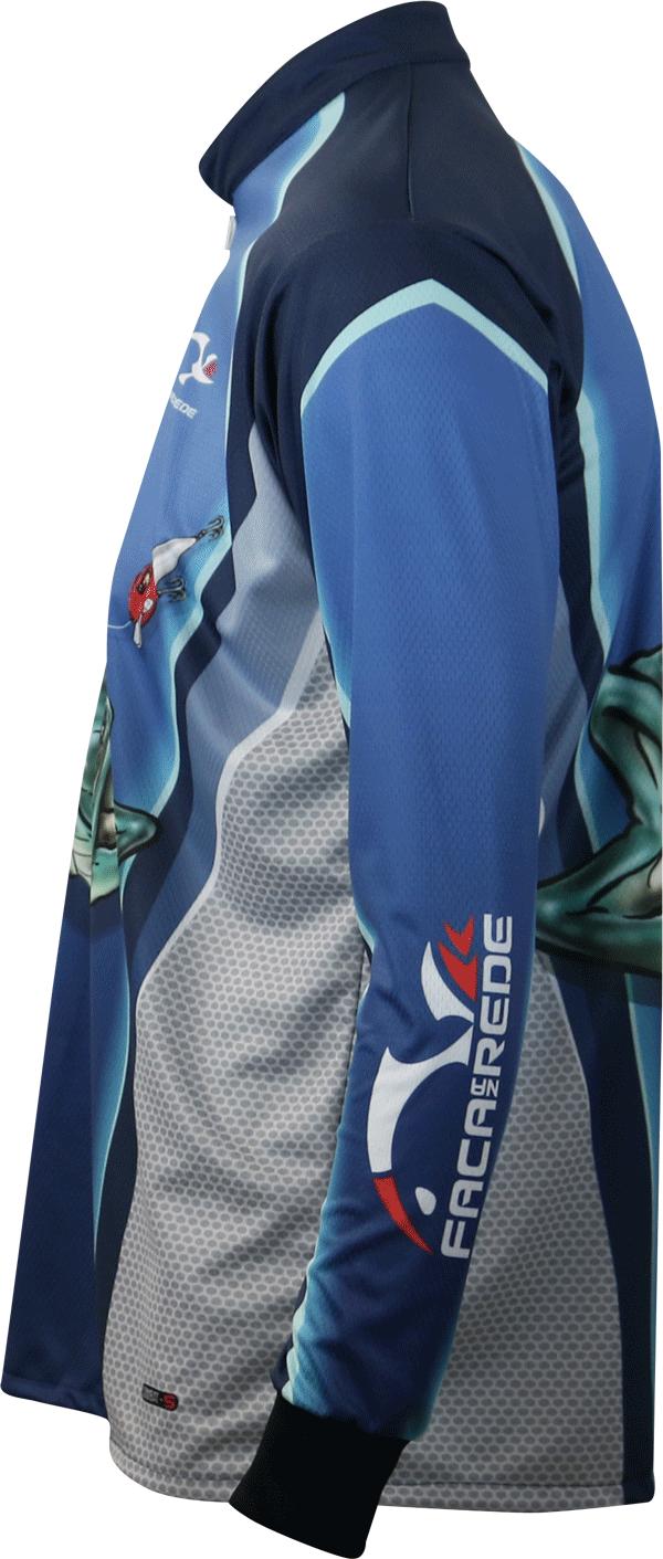 Camisa Faca na Rede Combat-S CS19 Tucuna Azul