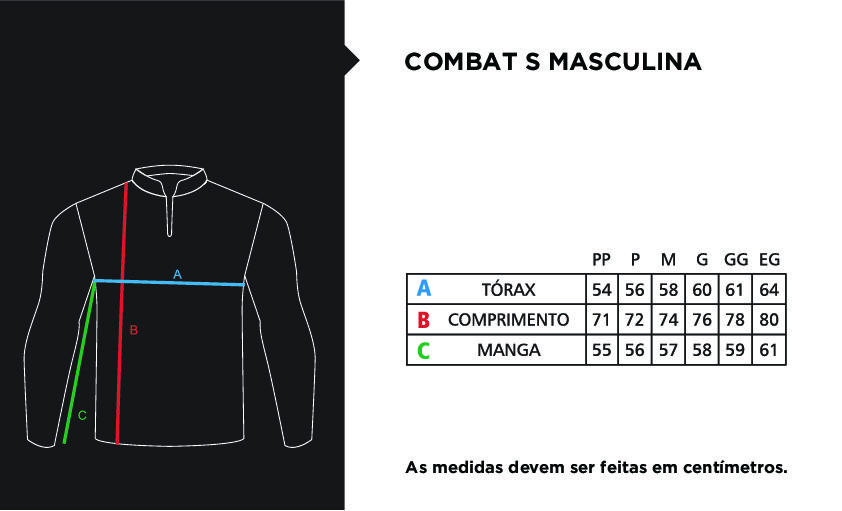 Camisa Faca na Rede Combat Tucunare