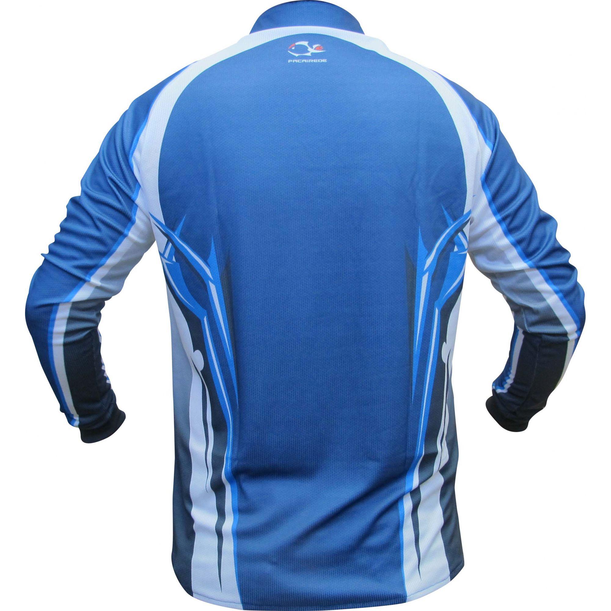 Camisa Faca na Rede Evo Clean Azul 02