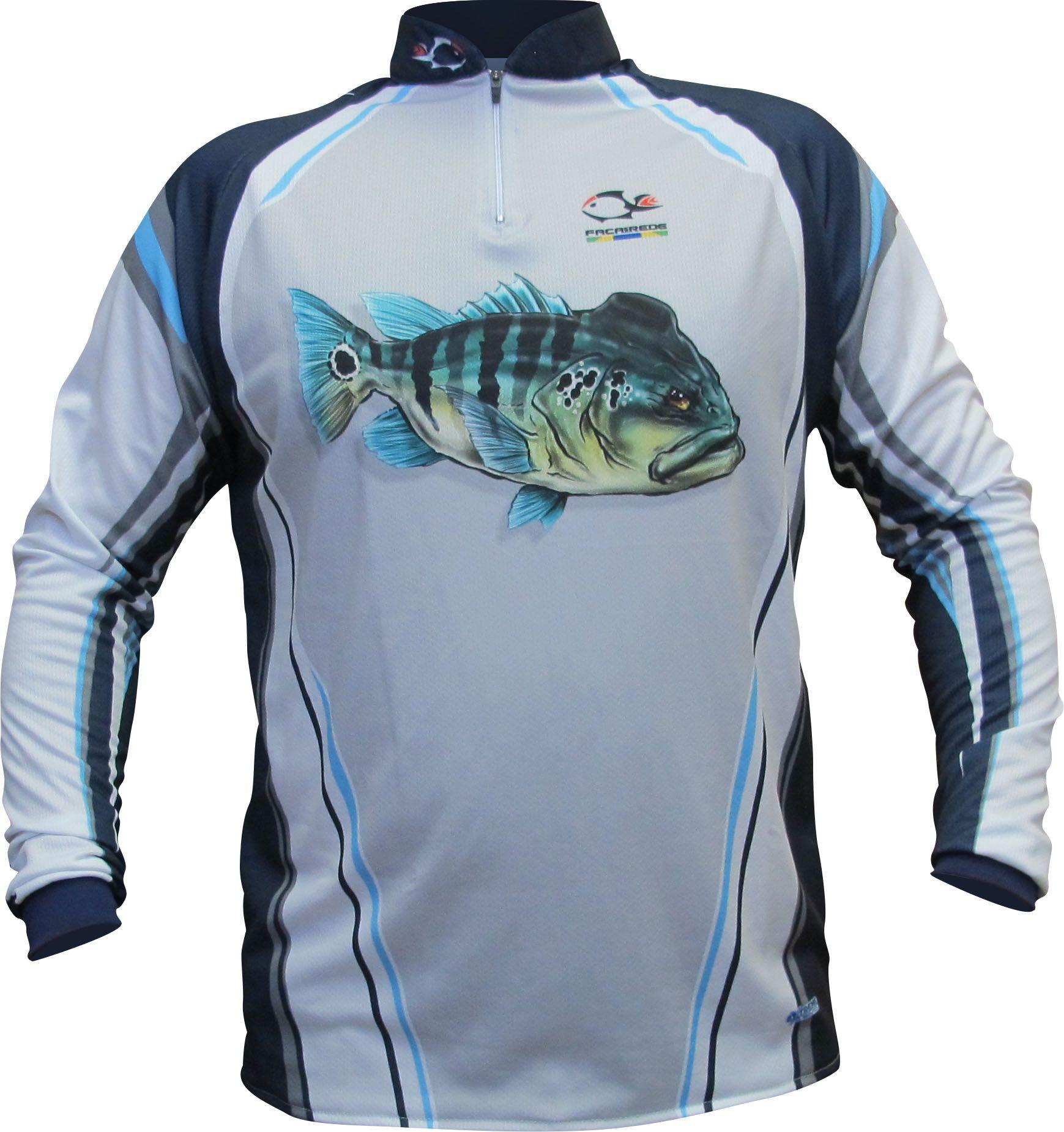 Camisa Faca na Rede Evo Tucuna Azul