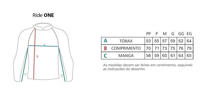 Camisa Faca na Rede Ride One - Marinho