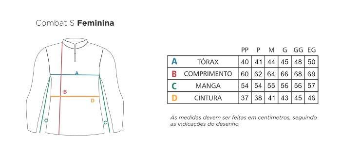 Camisa FEMININA Faca na Rede Combat-S 2020 NEW Salmon