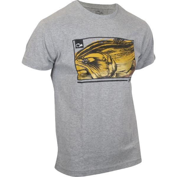 Camiseta Casual Faca na Rede DOURADO Rei Do Rio