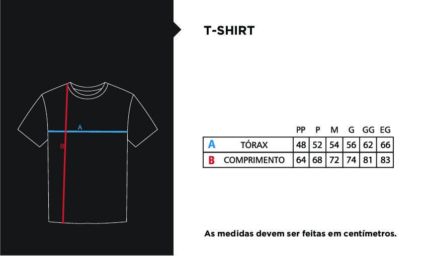 Camiseta Casual Faca na Rede FNR Azul