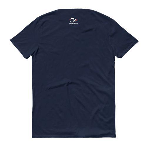 Camiseta Casual Marinho Acao Z Faca na Rede