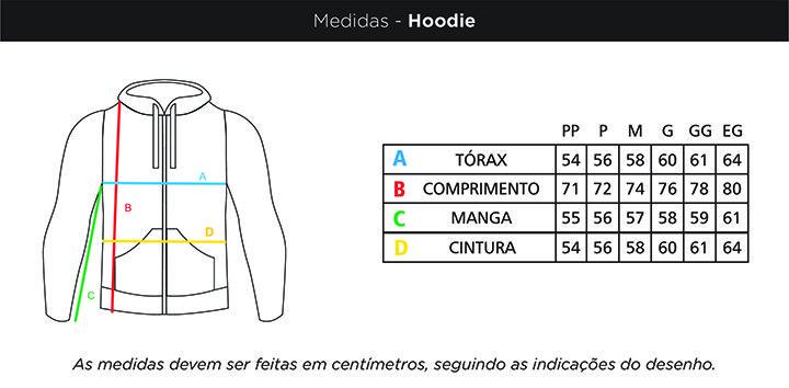 Moletom-Hoodie Tucuna Azul Faca na Rede