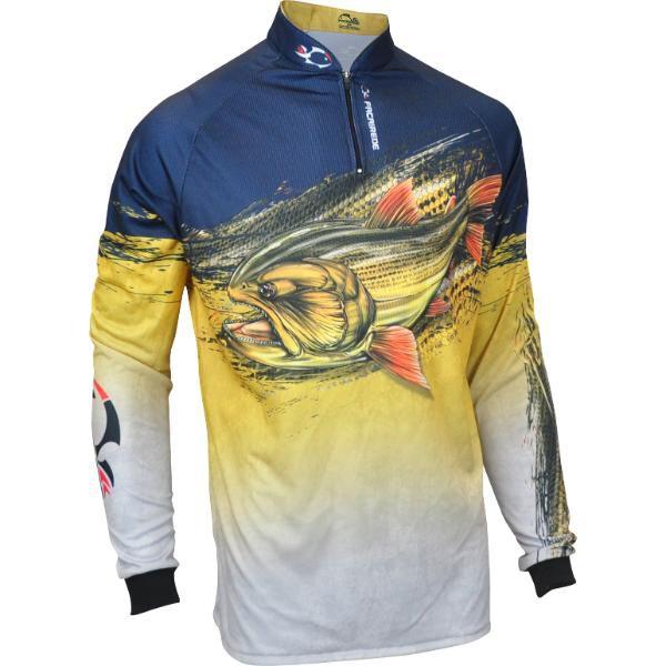 Tam ESPECIAL Camisa Faca na Rede Evo Dourado 18/19