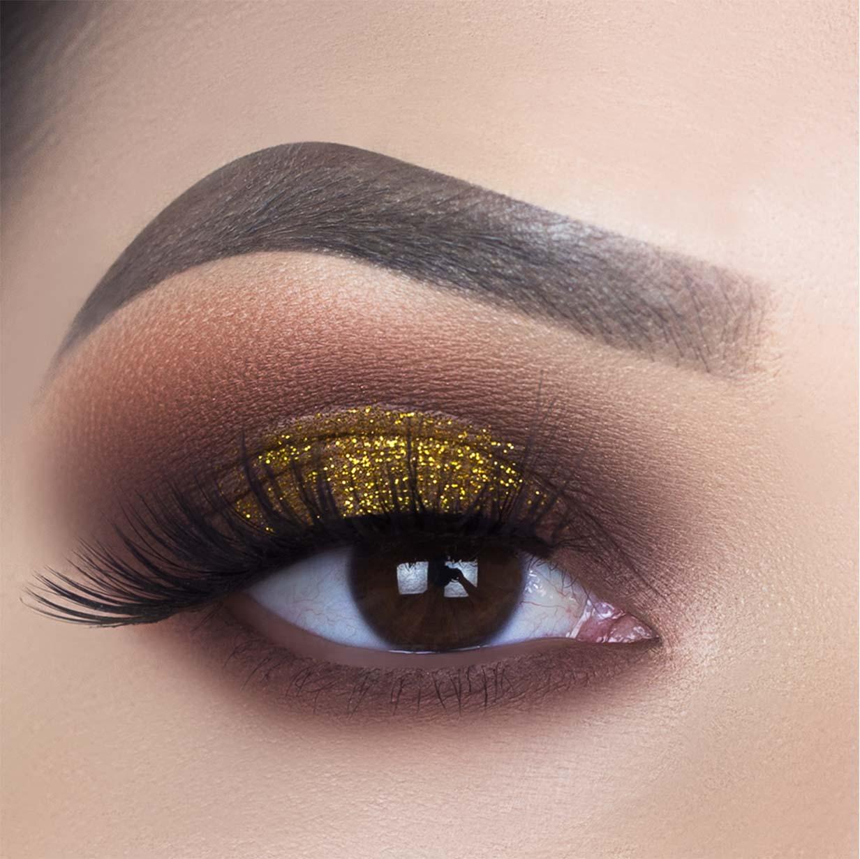 Asa de Borboleta Glitter Suelen Makeup Moscou  - SUELEN MAKEUP