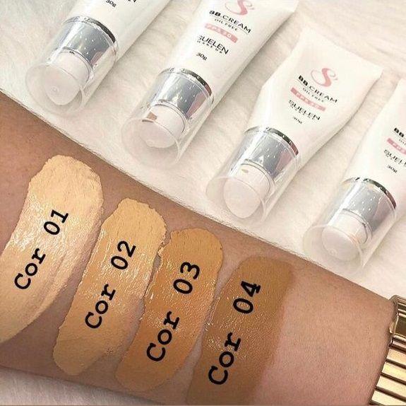 Base BB Cream Fps 30 Cor 01 Suelen Makeup 30g  - SUELEN MAKEUP