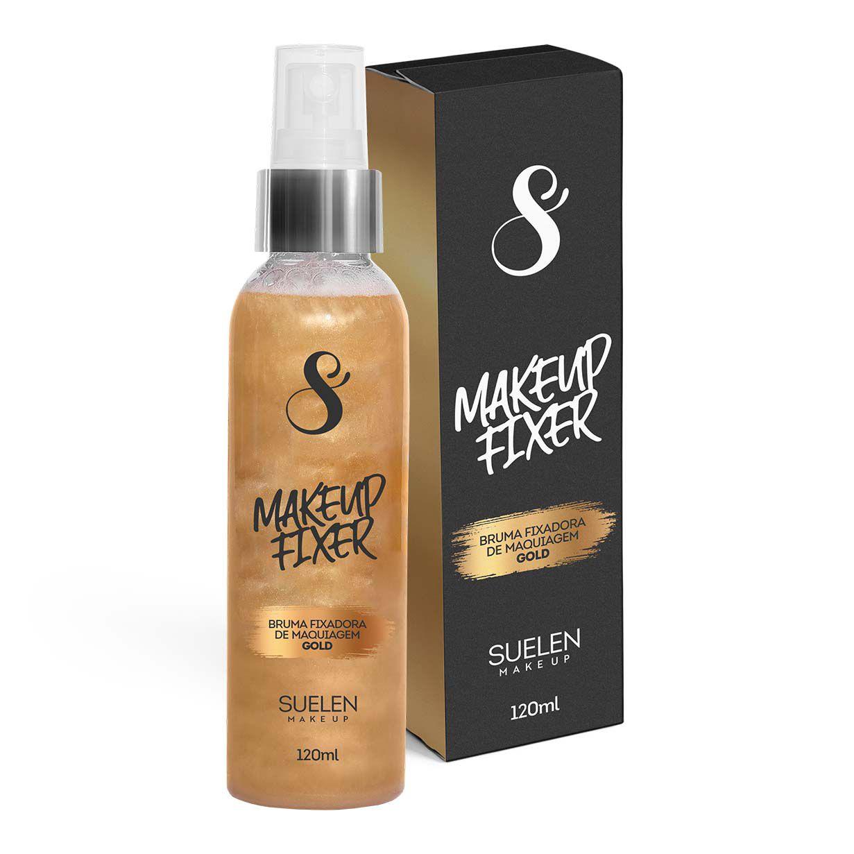 Bruma Fixadora de Maquiagem Gold Suelen Makeup  - SUELEN MAKEUP