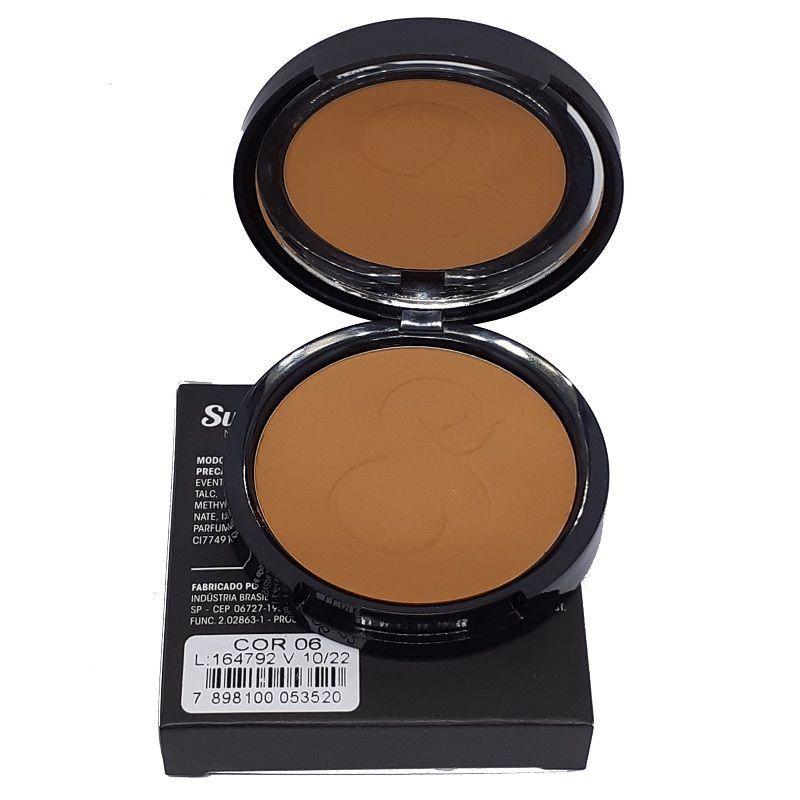 Pó Compacto Suelen Makeup 06 11G  - SUELEN MAKEUP