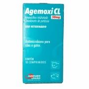 Agemoxi CL 50 mg com 10 comprimidos Agener Pet
