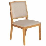 Kit 2 Cadeira Santa Fé Estofada Mesa Sala Jantar Tradição