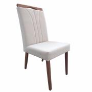 Kit 2 Cadeira de Jantar Estofada pra sua Mesa Milão Mozzoni