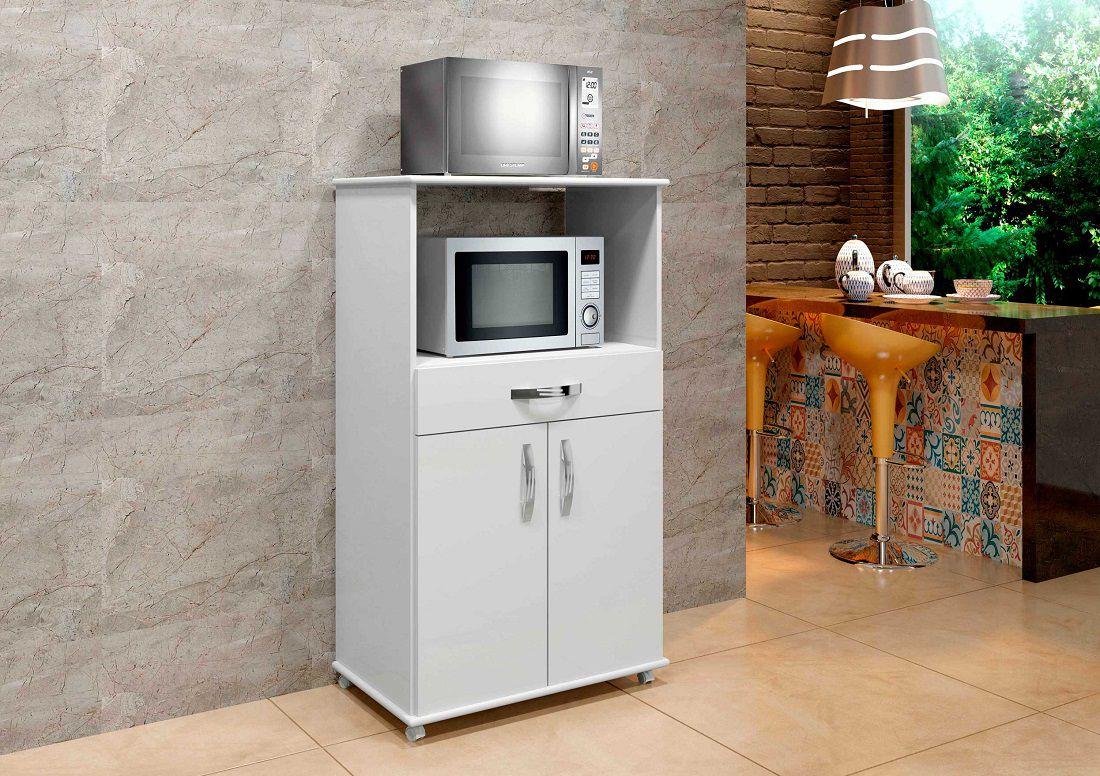Balcão Conquista Armário para Cozinha Área Serviço branco