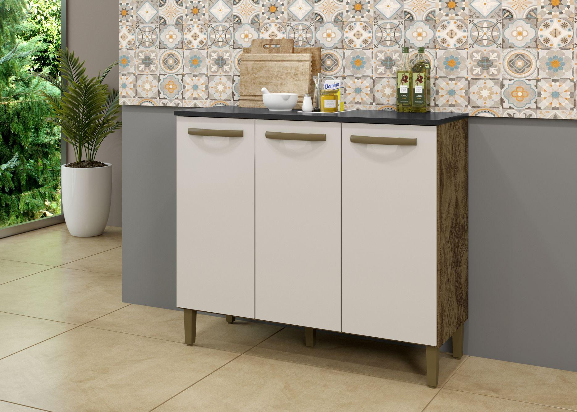 Balcão Vega Armário de Cozinha Utilitário Área Serviço Casa