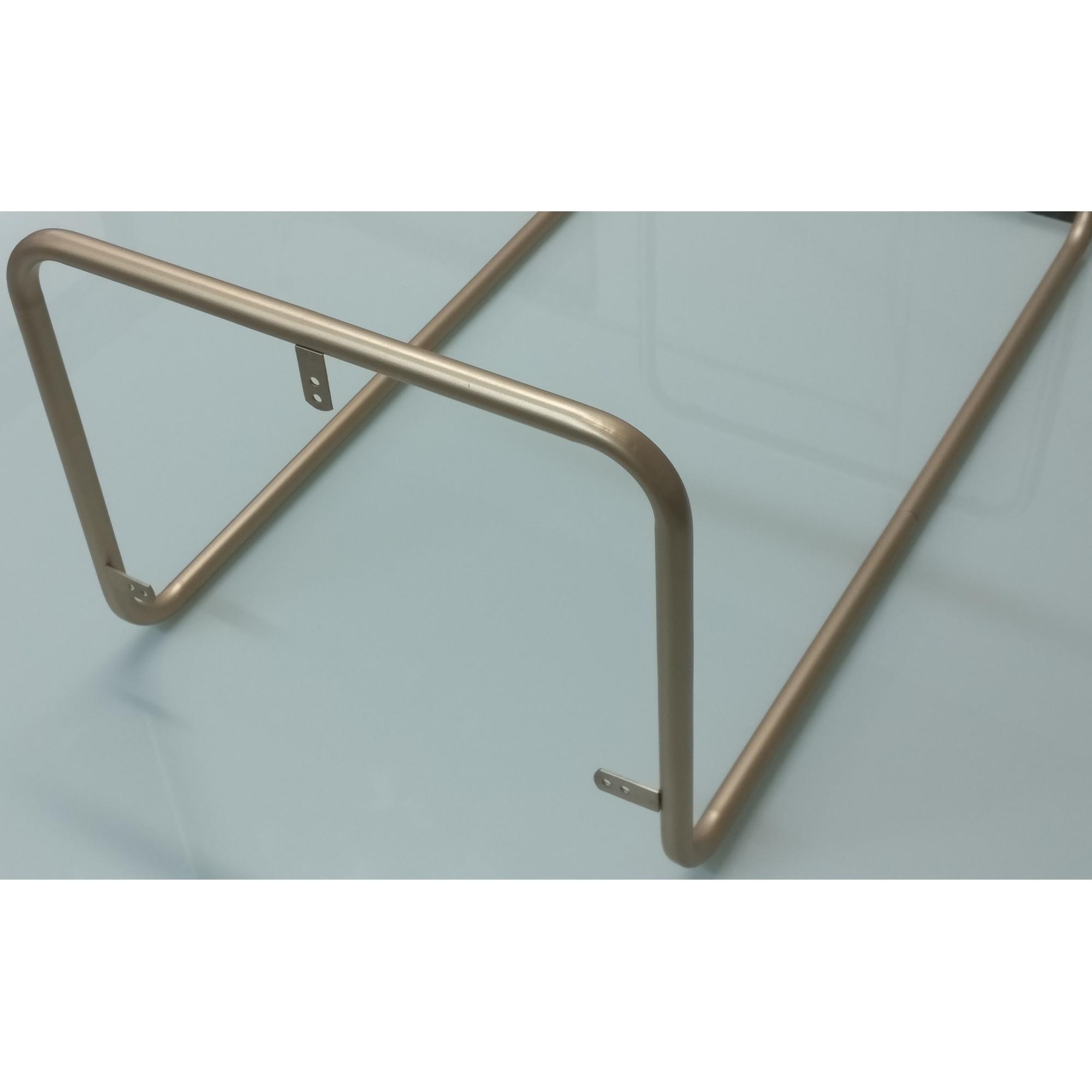 Base Tubular Desmontável para Mesinha de Canto Sala Bronze