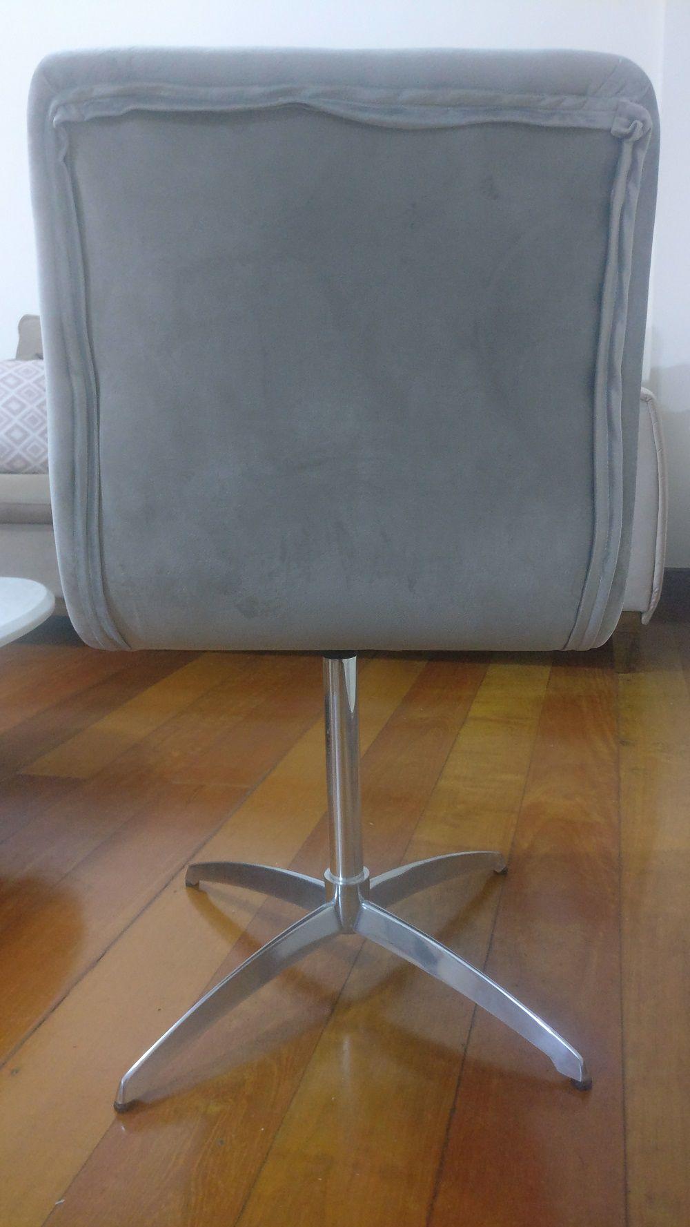 Cadeira para Mesa Sala Jantar Giratória Poltrona Lia Berlim